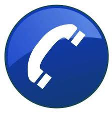 phone biru